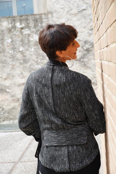 NU OFFICIAL – Giacca tweed