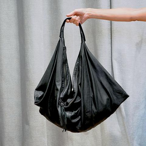 Manufatto Italiano – Sacca nappa nero