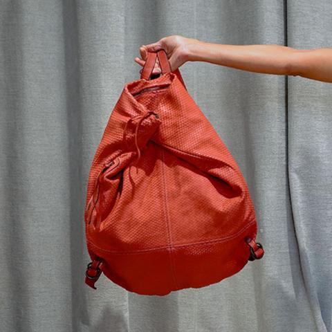 Manufatto Italiano – Zaino Rosso