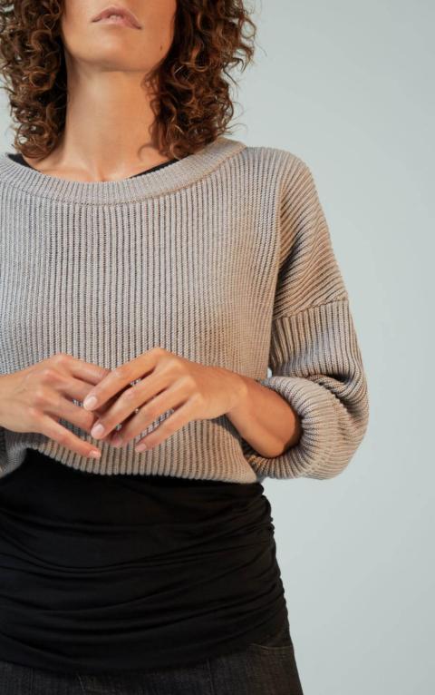 Ixos Beyond – Maglia grigio perla