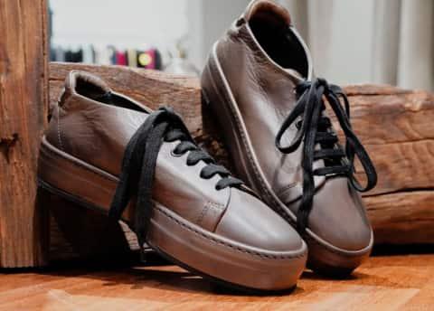 Gordon – sneakers pelle fango