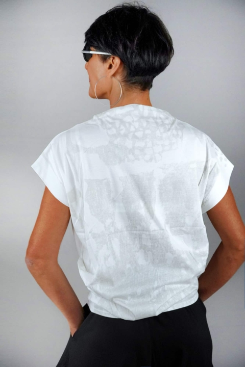 Moyuru – T-shirt bianca