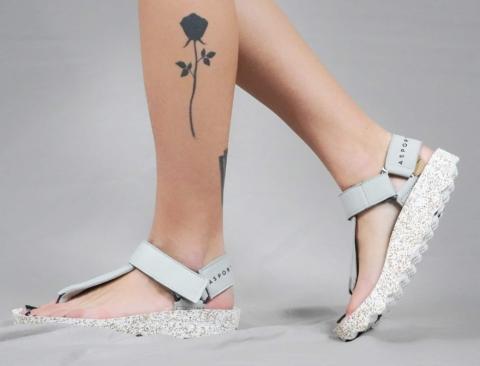 Asportuguesas – Sandalo grigio chiaro