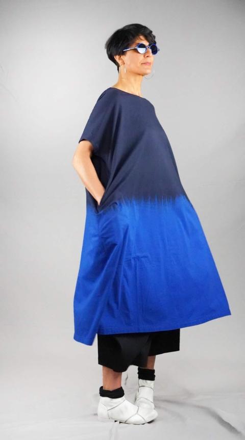 Moyuru – Vestito blu