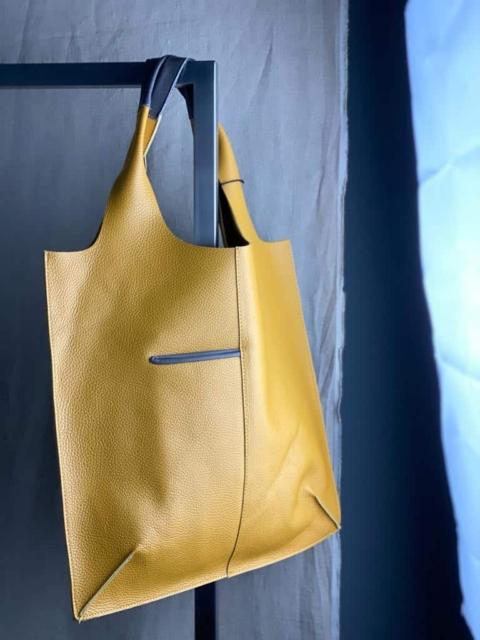 Spazio IF – Shopping bag ocra