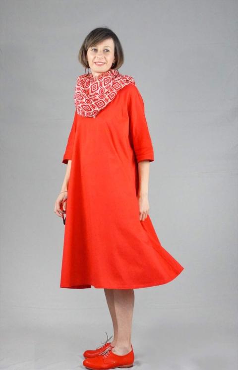 apuntob – Vestito Rosso
