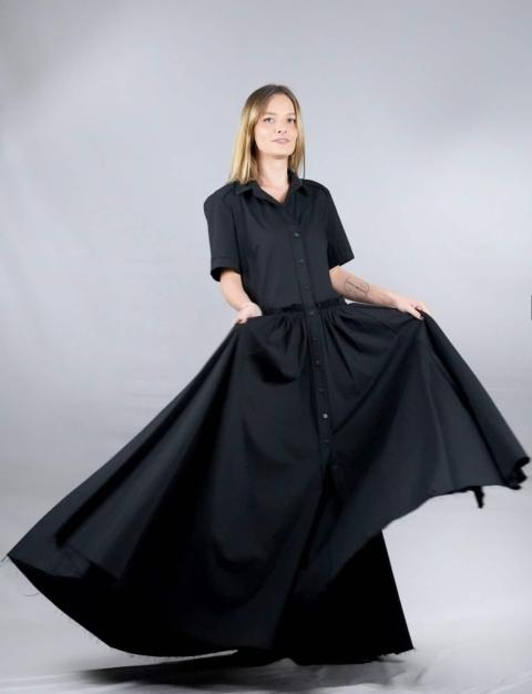 Industrial – Vestito nero