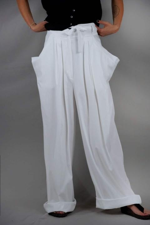 Industrial – Pantalone bianco
